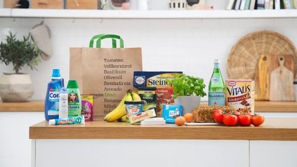AmazonFresh: Lebensmittelversand für 10 Euro monatlich