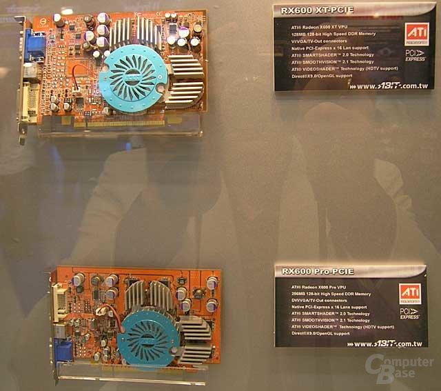 Zwei von Abits neuen Grafikkarten auf der Computex