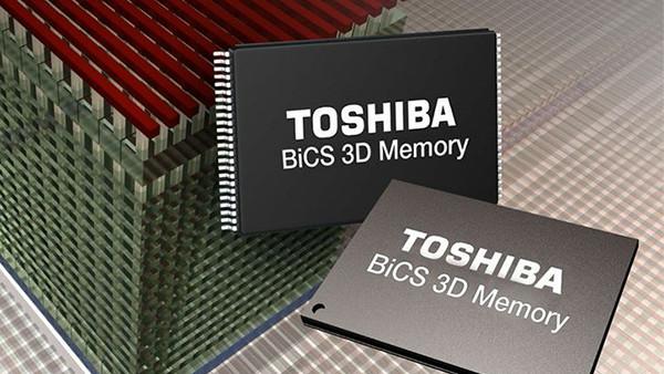 64 Layer 3D-NAND: Toshiba will erste NVMe-SSD mit BiCS3-Flash zeigen
