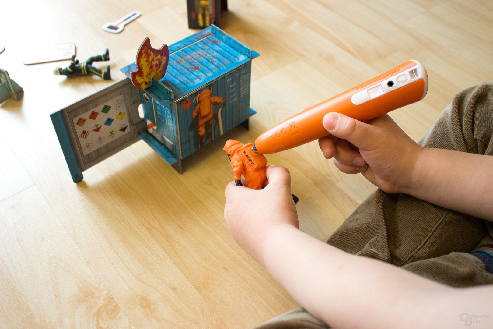 Auch das neue Set ist sehr gut für kleine Kinderhände geeignet