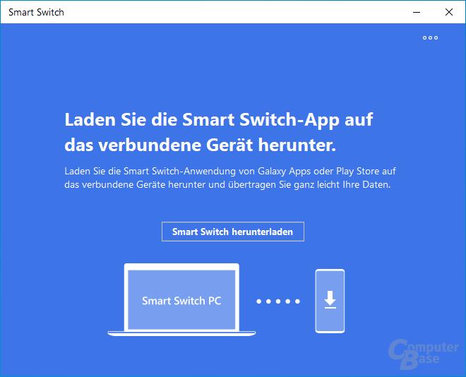 Samsung Smart Switch – Außerdem muss man unter Android den Zugriff auf diverse Funktionen erlauben