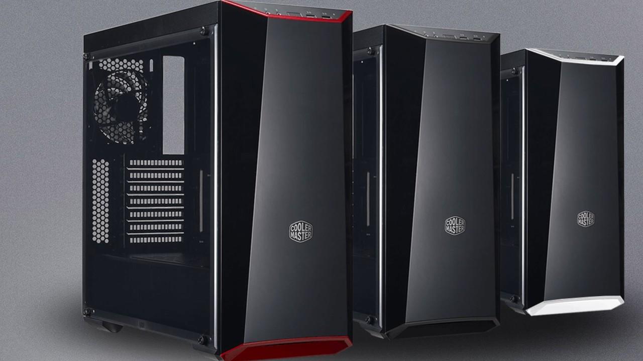 MasterBox 5: Lite- und MSI-Gehäuse von Cooler Master