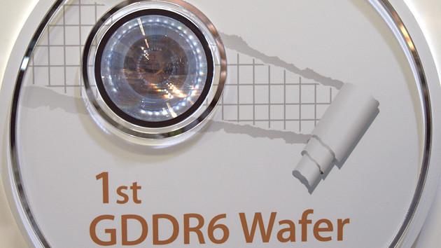 GDDR6: SK Hynix zeigt Grafikspeicher für Nvidias Volta-GPU