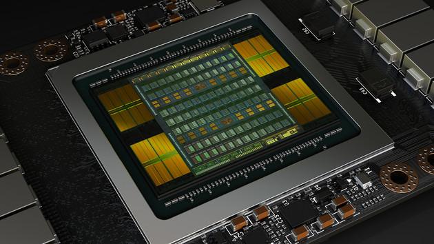 Nvidia Volta: Tesla V100 bringt 15 TFLOPs bei 5.120 ALUs auf 815 mm²