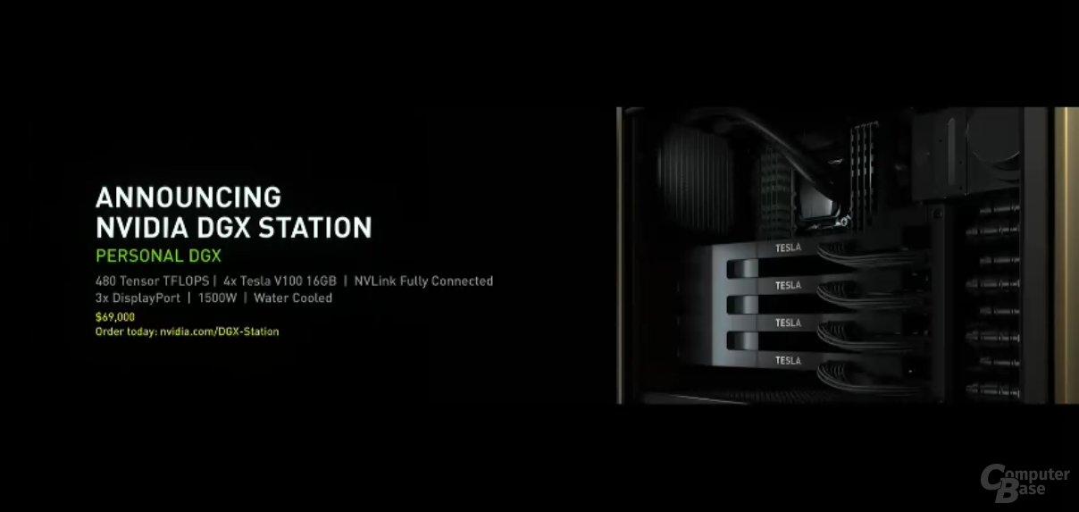 Nvidia DGX Station