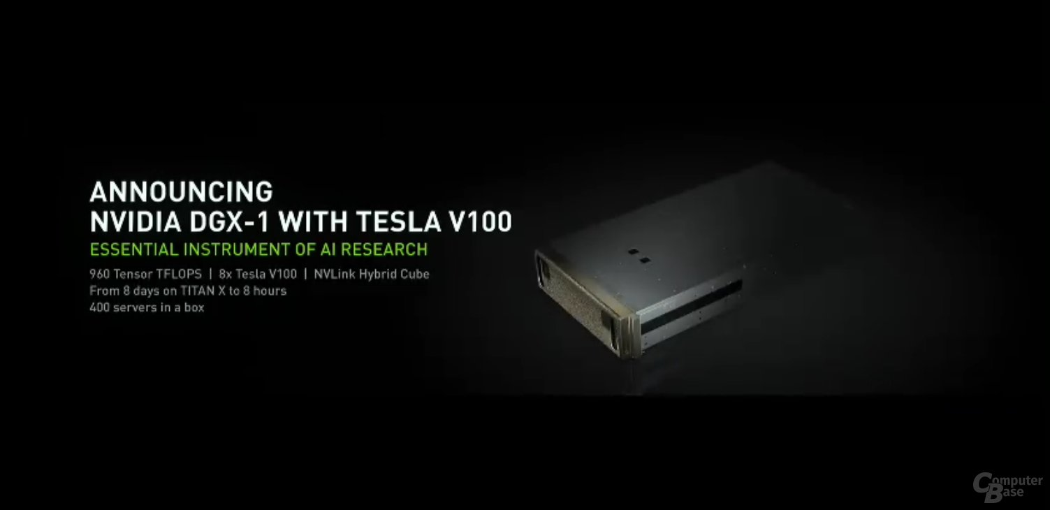 Nvidia DGX-1 mit Volta