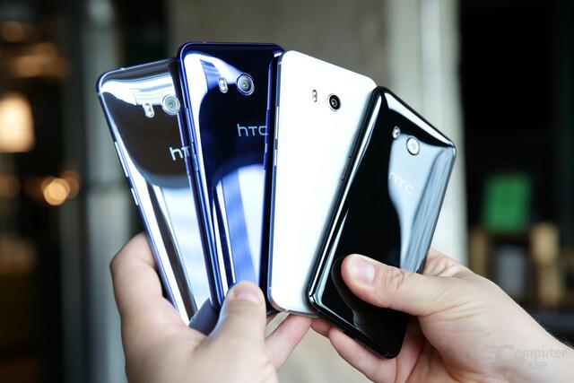 Das HTC U11 kommt wieder mit Liquid Surface Design