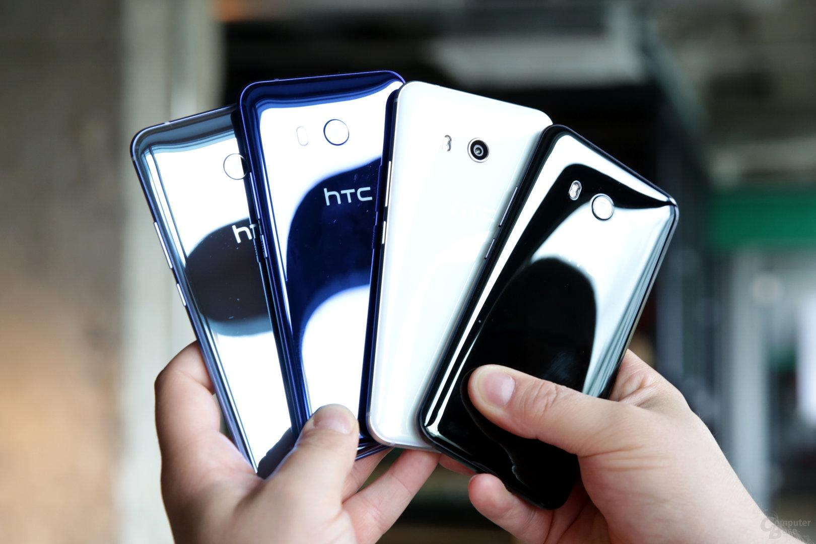 Das HTC U11 ist ein gelungeneres Flaggschiff als das U Ultra