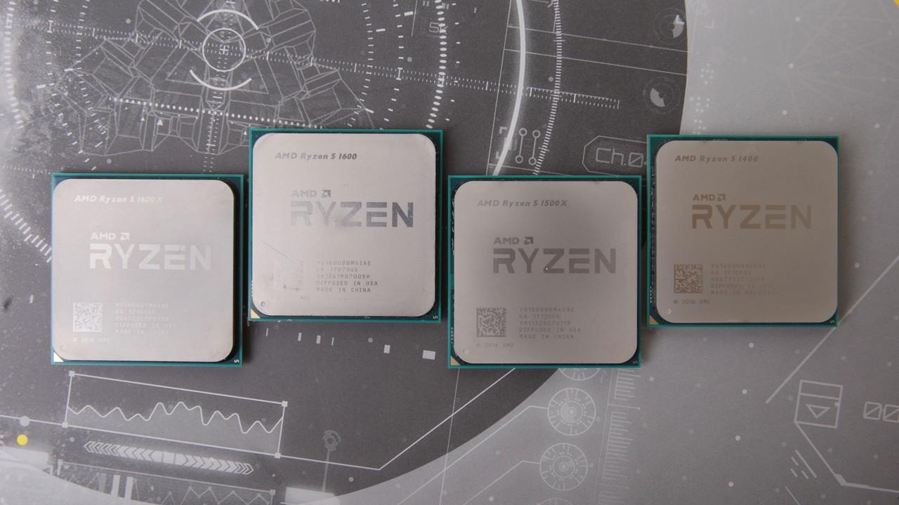 AMD Engineering Samples: Ryzen mit 12 und 16 Kernen sowie mehrere Raven Ridge