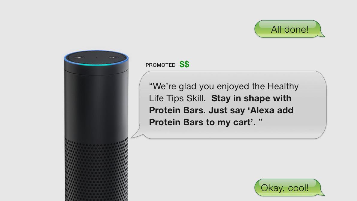 Amazon: VoiceLabs bringt gesprochene Werbung in Alexa-Skills