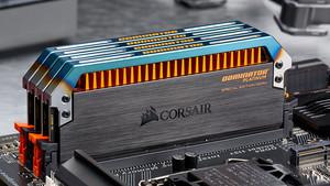 Corsairs Special Edition Torque: Dominator-Platinum-RAM mit farblichen Akzenten