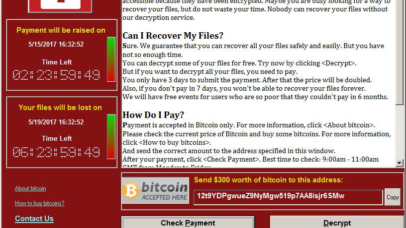 Krypto-Trojaner WannaCry: Weltweite Attacke betrifft auch Deutsche Bahn