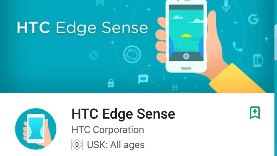 Edge Sense: Drückbarer Rahmen des neuen HTC-Flaggschiffs bestätigt