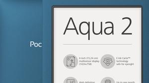 PocketBook Aqua 2: Wasserdichter Mittelklasse-Reader in zweiter Auflage