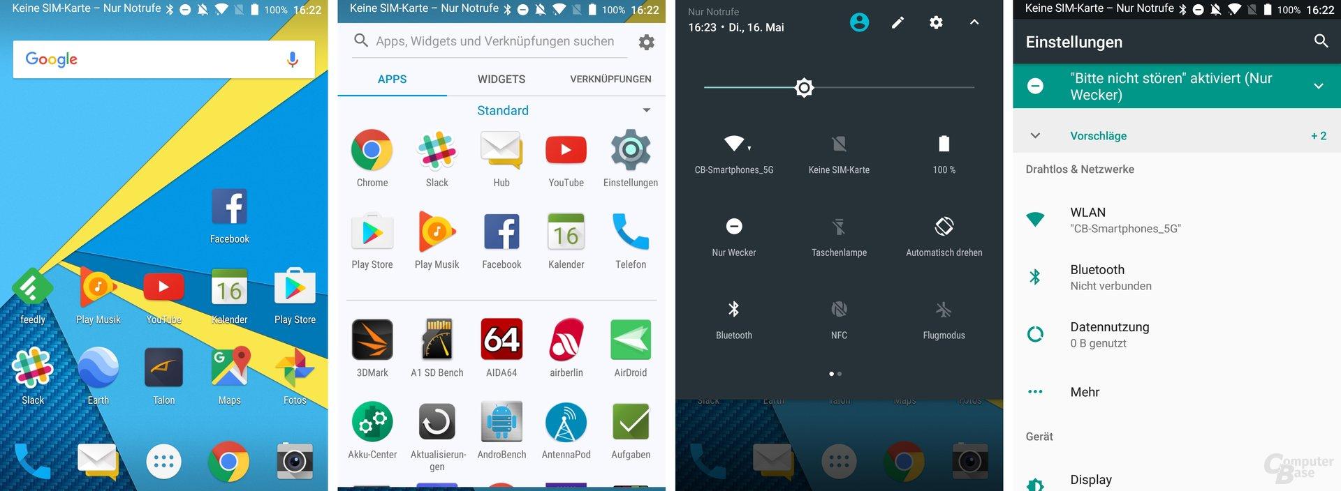BlackBerry nutzt Android 7.1.1 mit Stock-Design