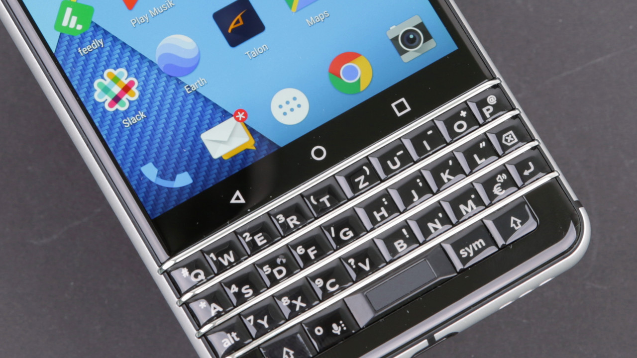 blackberry keyone im test tastatur smartphone mit langer. Black Bedroom Furniture Sets. Home Design Ideas