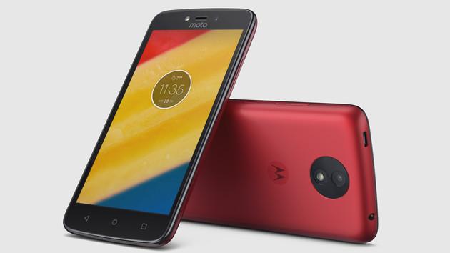 Moto C und C Plus: Einsteiger-Smartphones von Lenovo ab 89 Euro