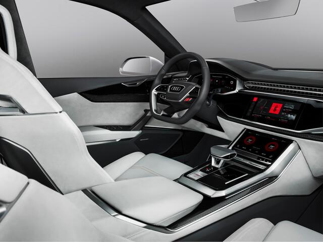 Audi Q8 Sport Concept mit Android als Betriebssystem