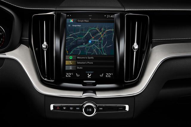 Volvo XC60 mit Android als Betriebssystem