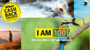 Nikon Cashback: Bis zu 150 Euro und Zusatzgarantie zum Jubiläum