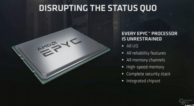 AMD Epyc: Ein Sockel als Alternative zu Zwei-Sockel-Systemen