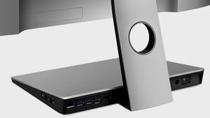 BenQ PD2710QC: 27-Zoll-IPS-Monitor mit USB-Typ-C-Dock im Standfuß