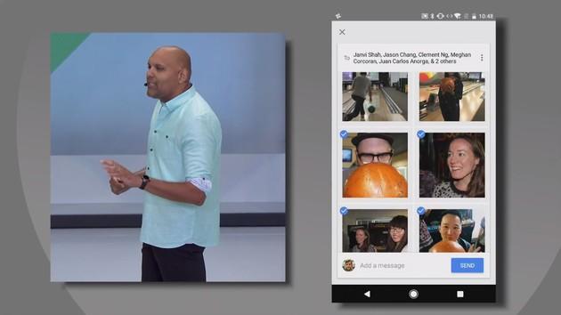 Google Photos: Maschinelles Lernen hilft beim Teilen von Bildern