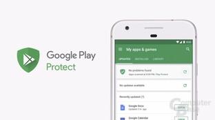 Google Play Protect zeigt dem Nutzer, was im Hintergrund ohnehin passiert
