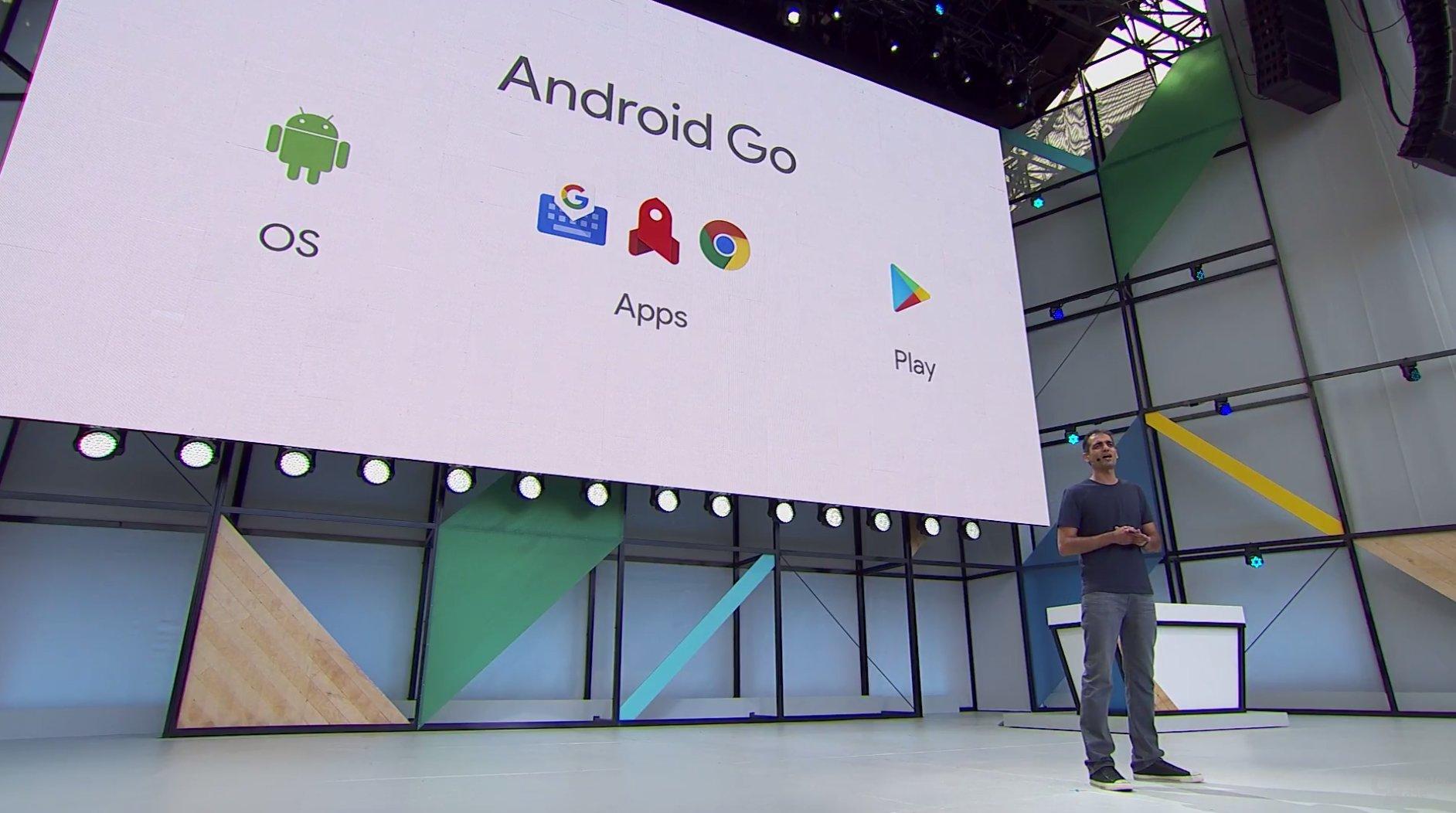 Android Go setzt sich aus drei Anpassungen zusammen