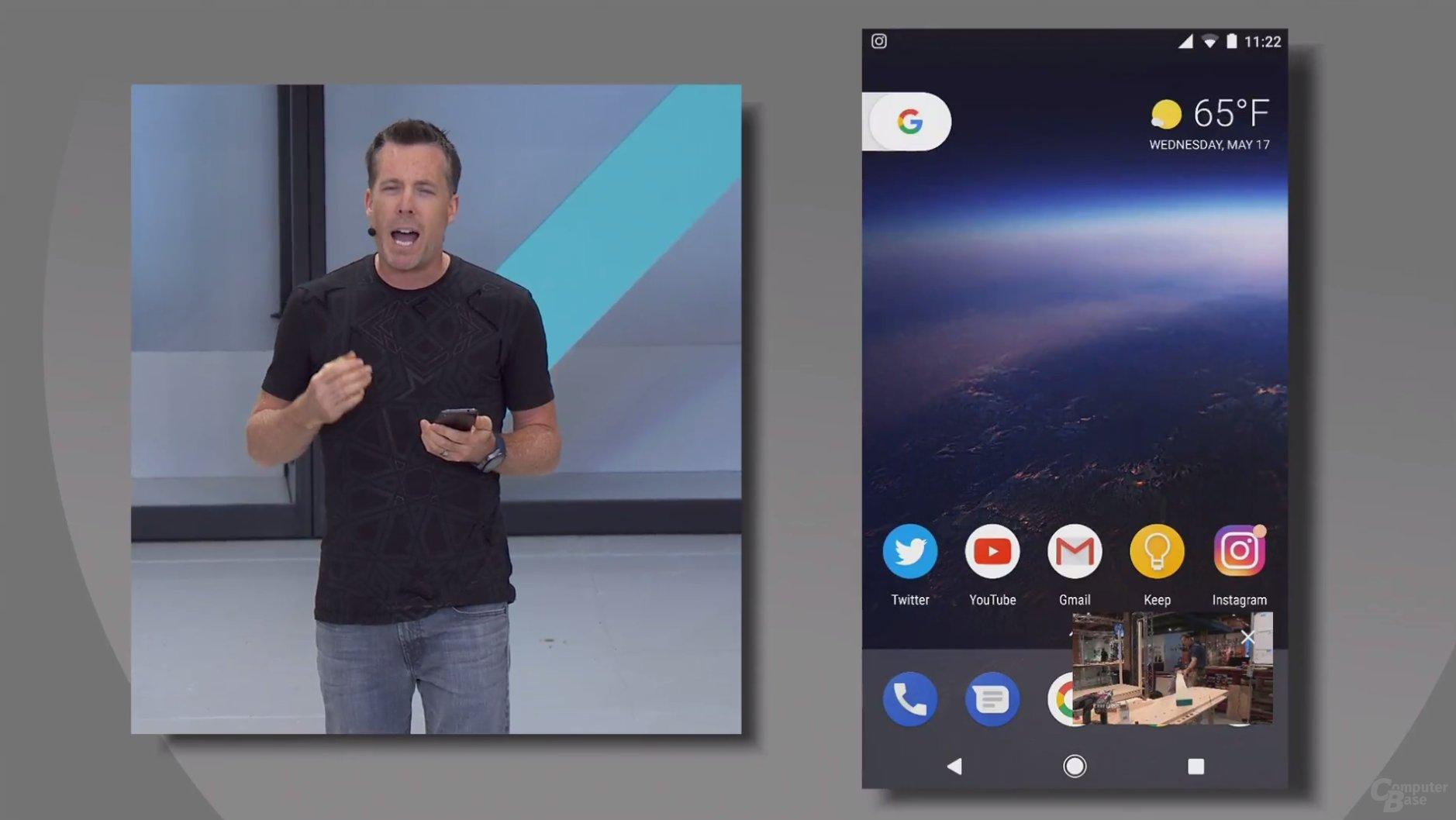 Neuer Bild-in-Bild-Modus für Android O