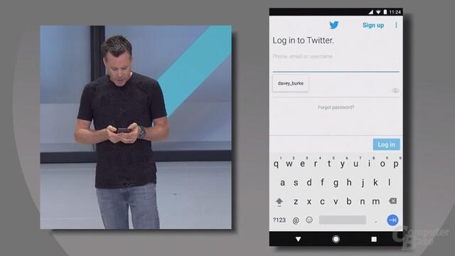 Neue Autofill-Funktionen für Android