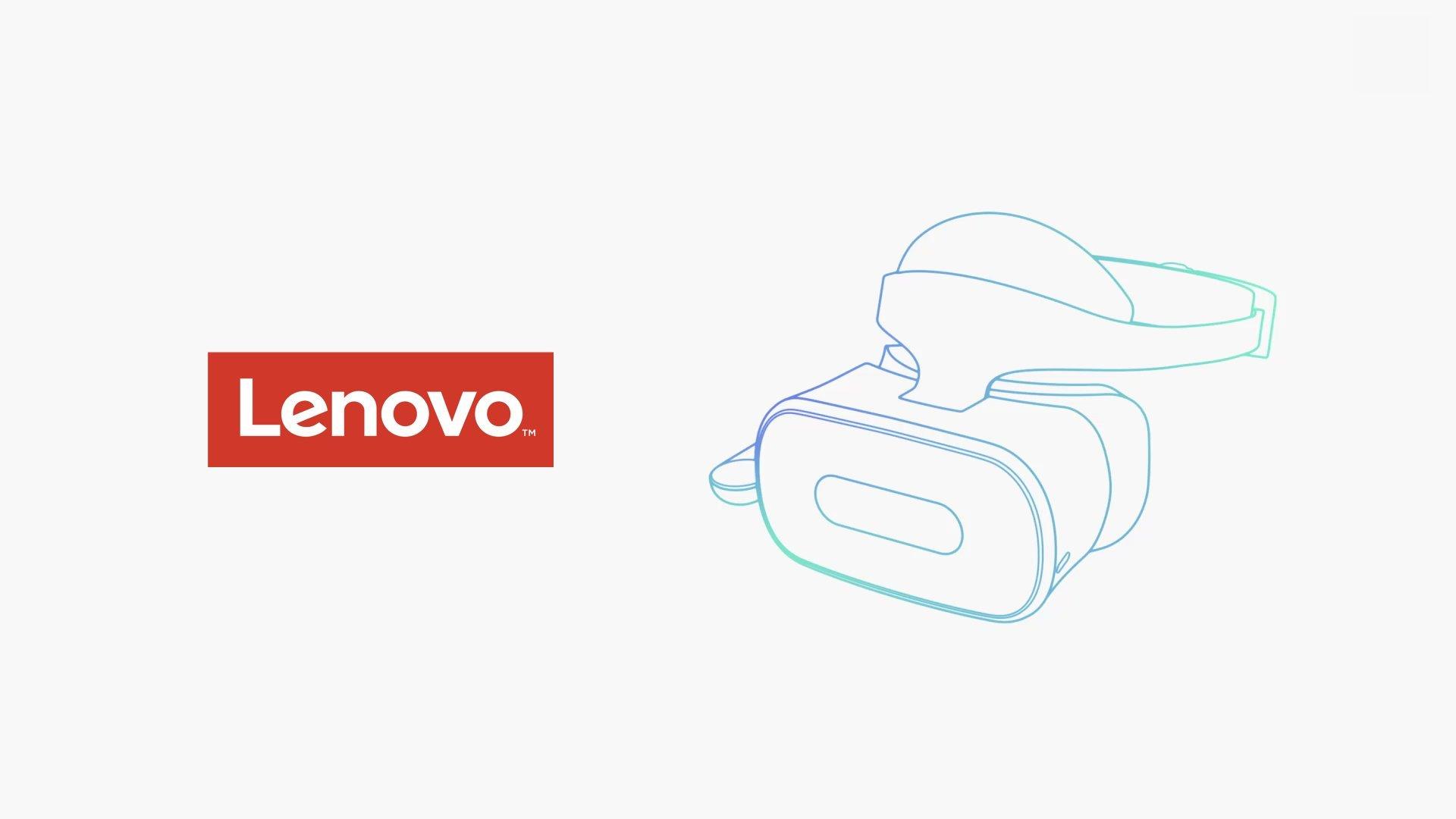 Autarke VR-Brille mit Google Daydream und Worldsense von Lenovo
