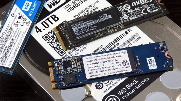 Intel Optane Memory im Test: 3D XPoint gegen NAND‑Flash und Magnetspeicher