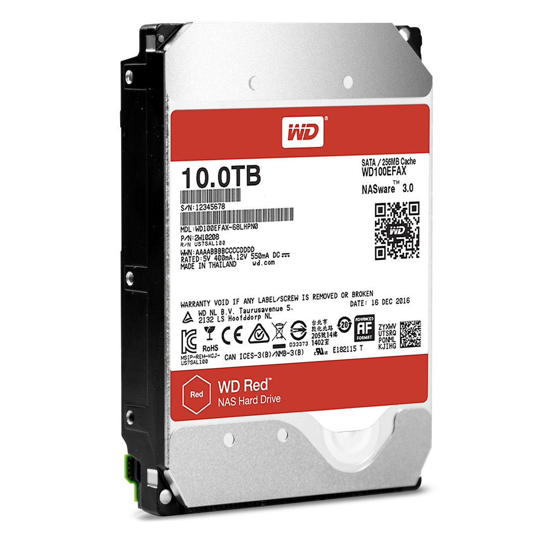 WD Red 10TB (WD100EFAX)
