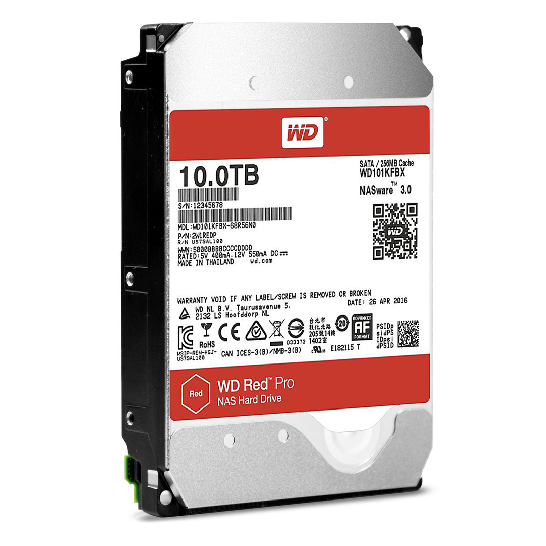 WD Red Pro 10T (WD101KFBX)