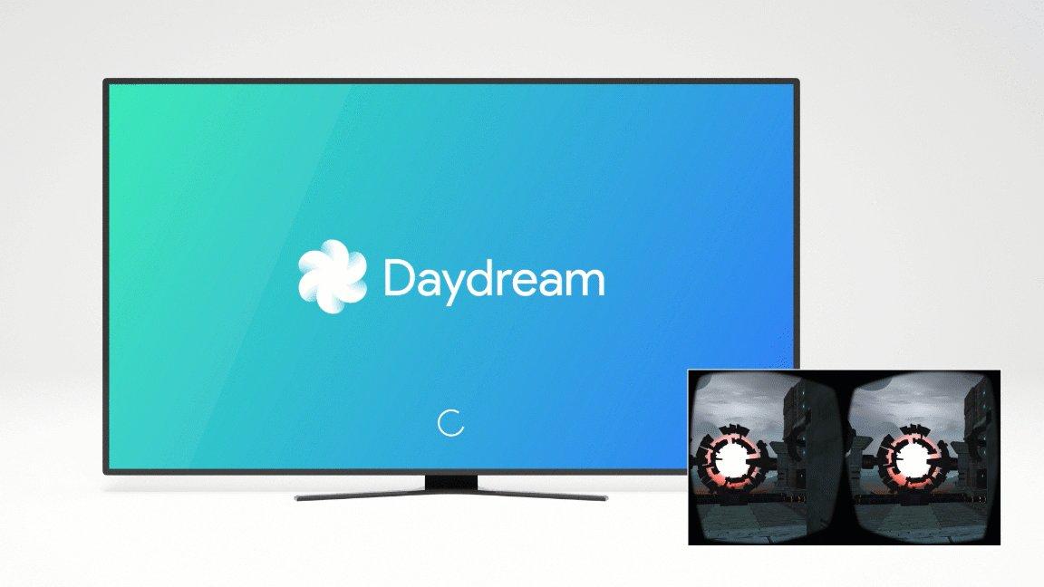 Cast-Option für Google Daydream