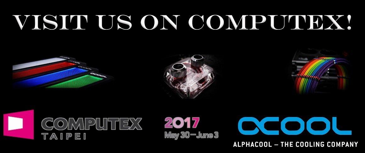Alphacool: Ausblick auf die Computex 2017