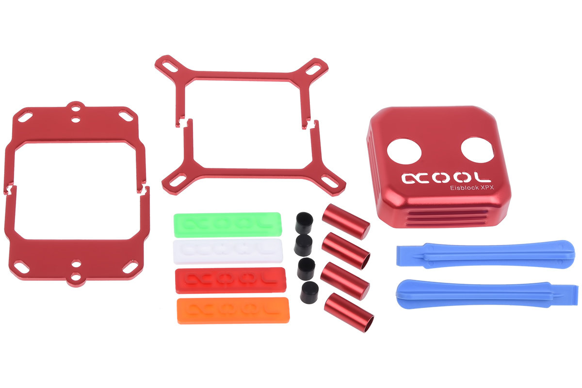 Alphacool Eisblock XPX: Modding-Kit (rot)