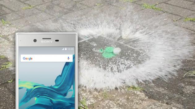Sony Xperia XZ Premium im Test: 960-FPS-Zeitlupe für spektakuläre 184 ms