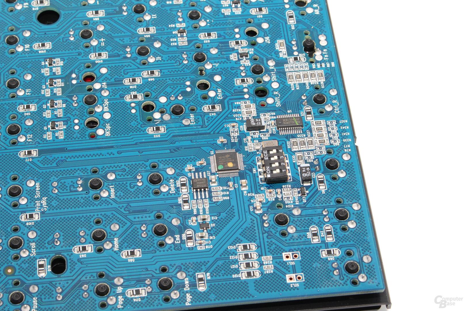 Schaltzentrale: Ducky nutzt einen ARM-Microcontroller von Holtek (HT32F1654)