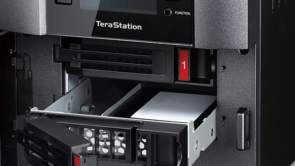TeraStation 5210DF: Buffalo setzt im 2-Bay-NAS auf SSDs und 10-Gbit-Port