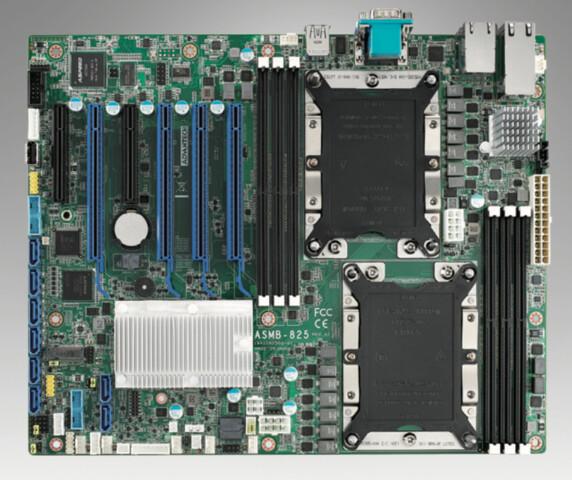 ASMB-825 bietet zwei Skylake-SP im ATX-Format