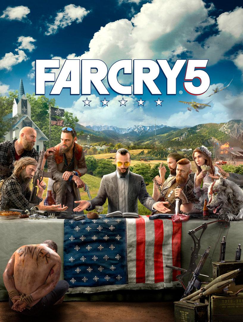 Far Cry 5 – Key Art