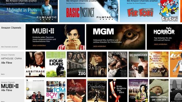 Amazon Channels: 26 neue TV-Kanäle für Prime-Mitglieder