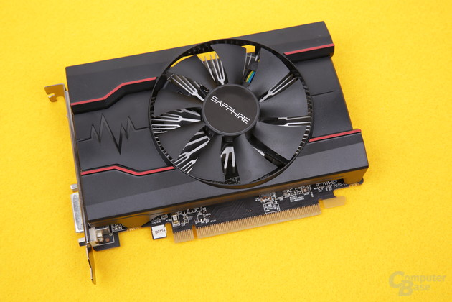 Sapphire Radeon RX 550 Pulse im Test