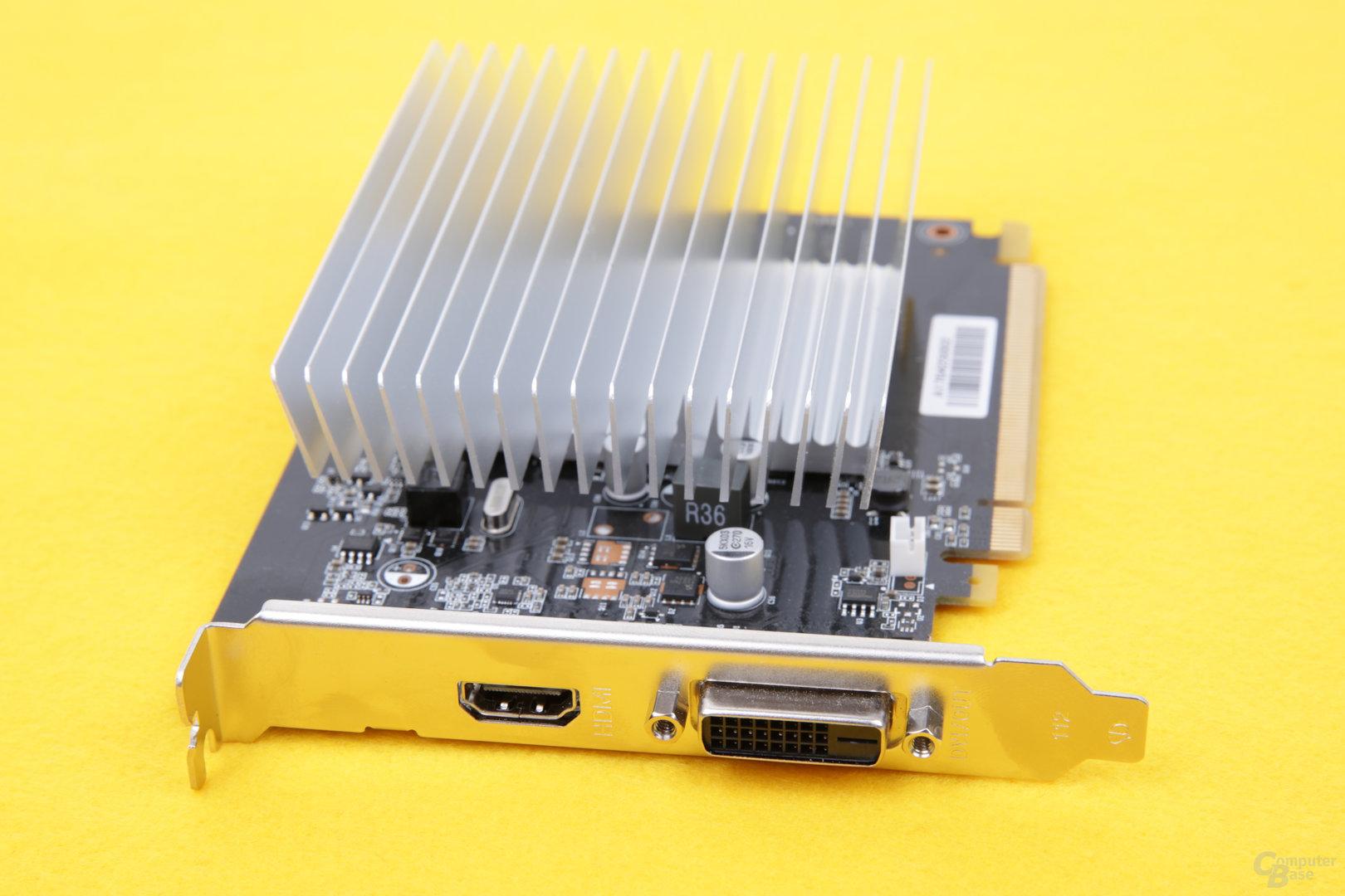 Gainward GeForce GT 1030 SilentFX – Anschlüsse