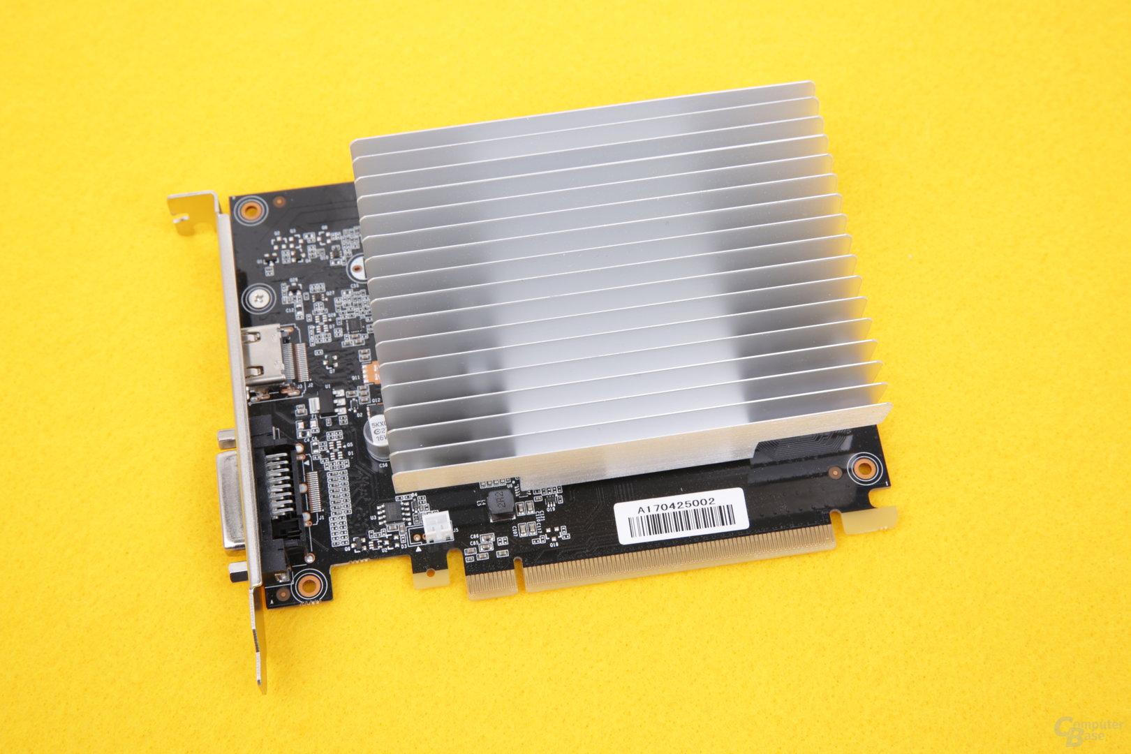 Gainward GeForce GT 1030 SilentFX im Test