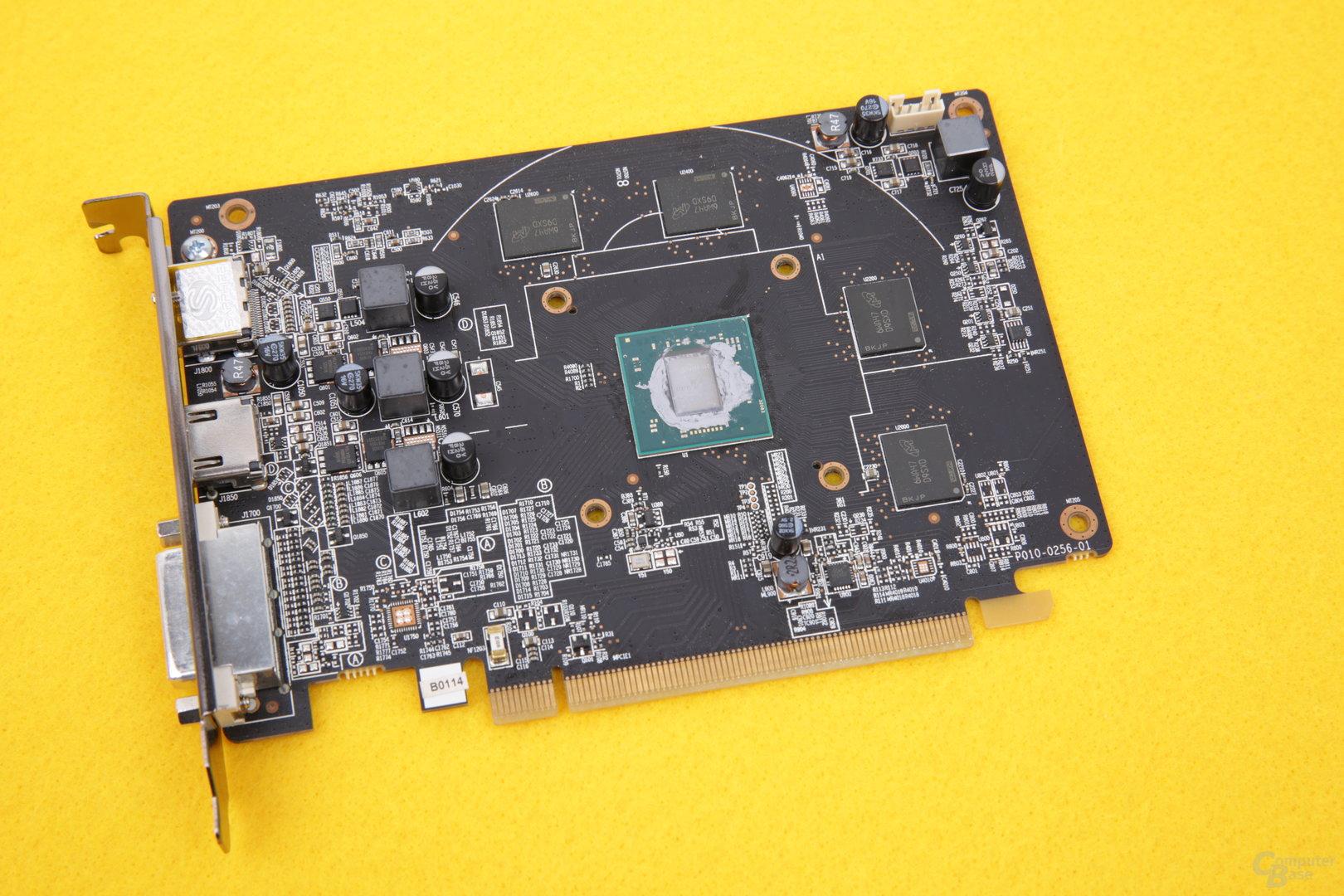 Sapphire Radeon RX 550 Pulse – ohne Kühler