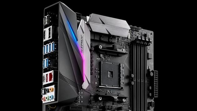 Asus ROG Strix X370-F Gaming: Crosshair VI Hero mit weniger USB aber APU ready
