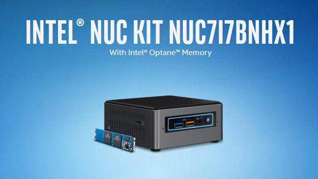 Intel NUC: Optane Memory im Bundle belegt einzigen M.2-Platz